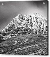 Meall Dearg Mountain At Glencoe Scotland Acrylic Print