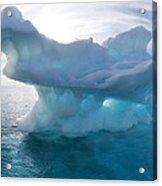 Melting Arctic Sea Ice, Canada Acrylic Print