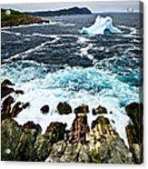 Melting Iceberg Acrylic Print