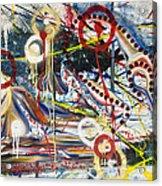 Metronomes Acrylic Print