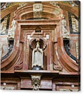 Mezquita Cathedral Architectural Details Acrylic Print