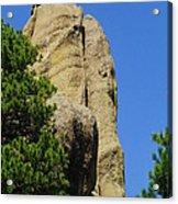 Mica Rock In The Black Hills Acrylic Print