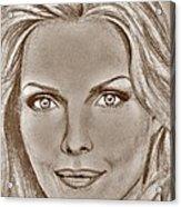 Michelle Pfeiffer In 2010 Acrylic Print by J McCombie