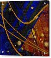 Mickey's Triptych - Cosmos I Acrylic Print