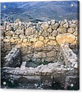 Midea Ruins Acrylic Print