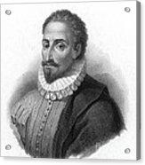 Miguel De Cervantes, Spanish Author Acrylic Print