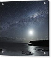 Milky Way Over Mornington Peninsula Acrylic Print by Alex Cherney, Terrastro.com