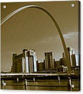 Millenium Bridge Acrylic Print