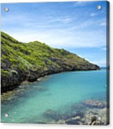 Minamijima Island Acrylic Print