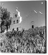 Mission San Diego De Alcala Monochrome Acrylic Print
