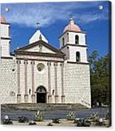 Mission Santa Barbara Acrylic Print