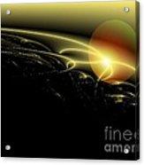 A Star Was Born, From Serie Mystica Acrylic Print