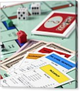 Monopoly Board Game Acrylic Print