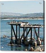 Monterey City Center Acrylic Print