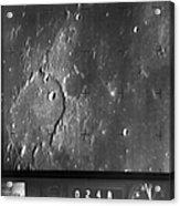 Moon: Ranger 7, 1964 Acrylic Print