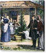 Mormon Wives, 1875 Acrylic Print