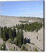 Mount Hood Pano Acrylic Print