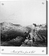 Mount Of Olives Acrylic Print