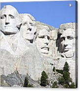 Mount Rushmore National Memorial, South Acrylic Print
