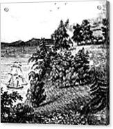 Mount Vernon, 1798 Acrylic Print