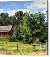 Mountain Cabin - Rural Idaho Acrylic Print