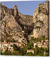 Moustier-sainte-marie Acrylic Print by Brian Jannsen