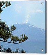 Mt. Etna Acrylic Print