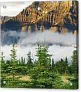 Mt Rundle Acrylic Print