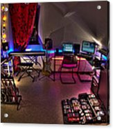 Music Studio Acrylic Print