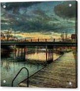 Napanee Harbour  Acrylic Print