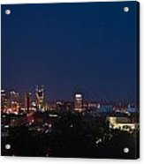 Nashville By Night Acrylic Print