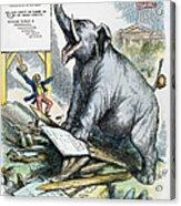 Nast: Tweed Cartoon, 1875 Acrylic Print by Granger