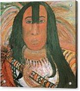 Native American Chief Acrylic Print