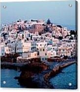 Naxos Island Greece Acrylic Print