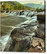 New River Waterfall Acrylic Print
