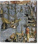 New World: Voyage, 1592 Acrylic Print