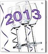 New Year 2013 Acrylic Print