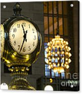 New York Minute Acrylic Print