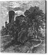 New York State: Castle Acrylic Print