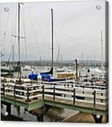 Newport Bay And Balboa Island Acrylic Print