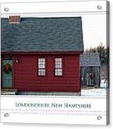 Nh Old Homes Acrylic Print by Jim McDonald Photography
