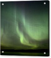 Night Shot Northern Lights Acrylic Print