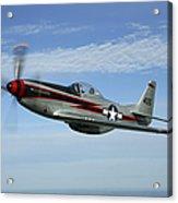 North American P-51 Cavalier Mustang Acrylic Print