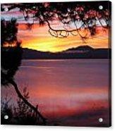 Northshore Sunrise Tahoe 2 Acrylic Print