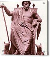 Odin, Norse God Acrylic Print by Photo Researchers