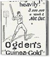 Ogdens Cigarettes, 1897 Acrylic Print