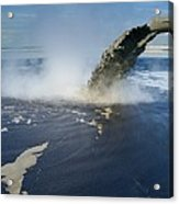 Oil Industry Pollution Acrylic Print
