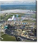 Oil Processing Plant, Athabasca Oil Sands Acrylic Print