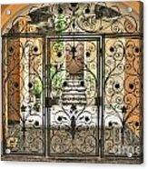 Old Gate Acrylic Print