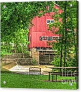 Old Indian Mill Acrylic Print